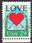 Stamps United States -  LOVE
