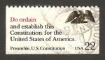 Stamps United States -  1786 - La Constitución