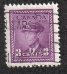 Stamps Canada -  Rey George VI: 1942-1948