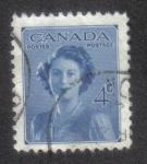 Sellos de America - Canadá -  Matrimonio de la Princesa Elizabeth