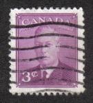Stamps Canada -  Rey George VI: Edición Definitiva 1949-1951