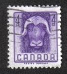 Sellos de America - Canadá -  Semana Nacional de la Vida Silvestre de 1955