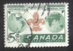 Stamps Canada -  Octavo Jamboree Scout Mundial, Niagara-on-the-Lake