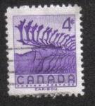 Sellos de America - Canadá -  Semana Nacional de la Vida Silvestre de 1956