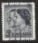 Sellos del Mundo : America : Canadá : Royal Visit 1957