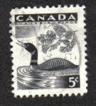 Sellos del Mundo : America : Canadá : Semana Nacional de la Vida Silvestre de 1957