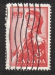 Sellos de America - Canadá -   Royal Visit 1959