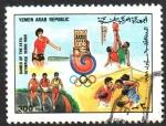 Stamps Yemen -  JUEGOS  OLIMPICOS  SEUL  1988