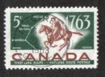 Sellos del Mundo : America : Canadá : Bicentenario del servicio postal de Quebec-Trois Rivieres-Montreal