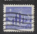 Sellos del Mundo : America : Canadá : Navidad del 64