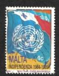 Sellos del Mundo : Europa : Malta : 25 aniversario de Independencia