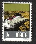 Sellos del Mundo : Europa : Malta : Industria de construcción naval