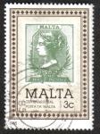 Sellos del Mundo : Europa : Malta : Centenario de oficina de correos de Malta