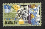 Sellos del Mundo : Europa : Malta : Historia de la industria maltesa