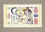 Stamps Bulgaria -  Caras