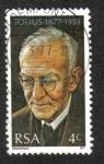 Sellos del Mundo : Africa : Sudáfrica : Jacob Daniel du Toit, Totius (1877-1953)