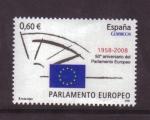 Sellos de Europa - España -  50 aniversario PARLAMENTO EUROPEO