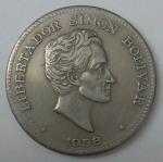 monedas de America - Colombia -  1958 - 50 centavos