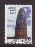 Stamps Spain -  TORRE AGBAR