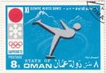 Sellos de Asia - Omán -  JUEGOS OLÍMPICOS SAPPORO,72
