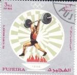 Stamps United Arab Emirates -  JUEGOS OLIMPICOS MUNICH,72
