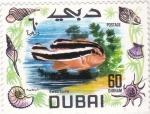 Stamps United Arab Emirates -  PEZ- SWEETLIPS