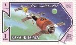 Stamps United Arab Emirates -  AERONAUTICA- salyut project