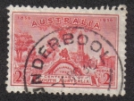 Stamps Australia -  Centenario del Australia del Sur