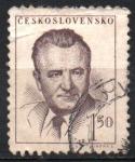 Sellos de Europa - Checoslovaquia -  PRESIDENTE  KLEMENT  GOTWALL