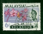 Stamps Malaysia -  flores