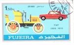 Stamps United Arab Emirates -  COCHES DE EPOCA- Fiat