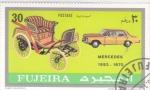 Sellos de Asia - Emiratos Árabes Unidos -  COCHES DE EPOCA- Mercedes