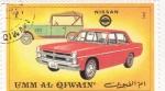 Stamps United Arab Emirates -  COCHES DE EPOCA- Nissan