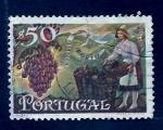 Sellos de Europa - Portugal -  Uvas