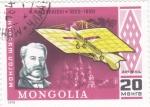 Stamps Mongolia -  PIONERO DE LA AVIACIÓN- ALEXANDER MOZHAISKI