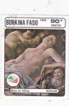 Stamps : Africa : Burkina_Faso :  VENUS Y MARTE