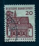 Stamps Germany -  castillo de Lorsch