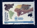 Stamps : Europe : Spain :  Hambre cero (WPP)
