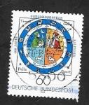 Sellos del Mundo : Europa : Alemania :  987 - IV Centº del calendario gregoriano