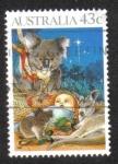 Sellos de Oceania - Australia -  Navidad del 90