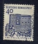 Stamps Germany -  Casillo de Trifels