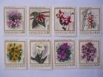 Sellos del Mundo : America : Venezuela : Orquídeas de Venezuela.