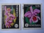 Sellos del Mundo : America : Venezuela : Orquídeas de Venezuela,.