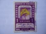 Sellos del Mundo : America : Venezuela : Areguaney, Árbol Nacional de Venezuela,.
