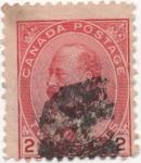 Sellos de America - Canadá -  Y & T Nº 79
