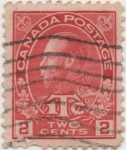 Stamps Canada -  Y & T Nº 105
