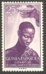 Sellos del Mundo : Africa : Guinea_Ecuatorial : guinea española - 345 - Bautismo