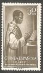 Sellos del Mundo : Africa : Guinea_Ecuatorial : guinea española - 346 - Sacerdote indígena