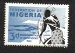 Sellos del Mundo : Africa : Nigeria : La independencia de Nigeria, 1 de octubre de 1961
