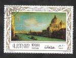 Sellos de Asia - Emiratos Árabes Unidos -  Ajman - 95 A - Cuadro italiano